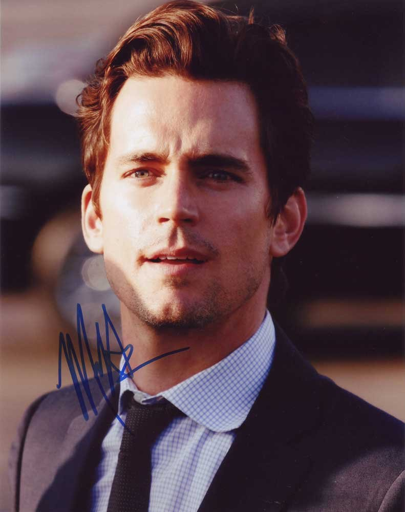 Matt Bomer in-person autographed photo