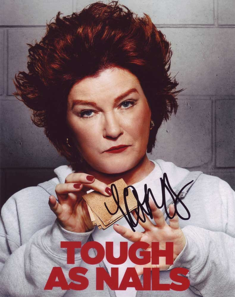 Kate Mulgrew in-person autographed photo