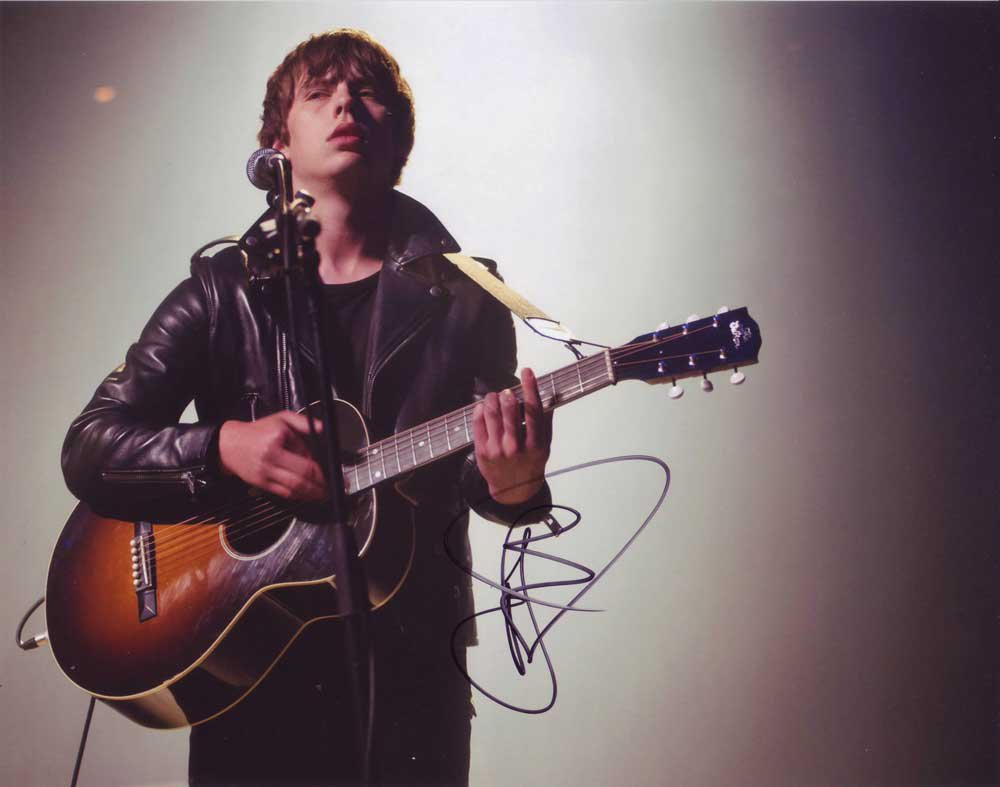Jake Bugg in-person autographed photo