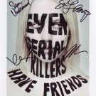 The Following In-person autographed Cast Photo by 4