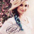 Demi Lovato In-person Autographed Photo