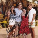 Teen Beach Movie In-person autographed Cast Photo by all 4
