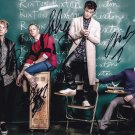 Rixton in-person autographed group photo