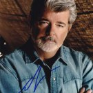 George Lucas in-person autographed photo
