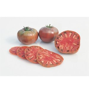 Organic Heirloom Cherokee Purple Tomato 30+ Seeds