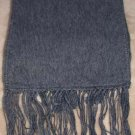 Scarf  Alpaca Scarf Dark Gray Made in Peru