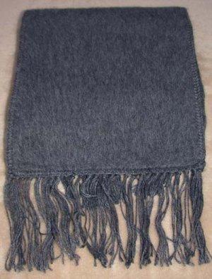 Scarf  Alpaca Scarf Dark Gray Made in Peru