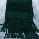Scarf  Alpaca Scarf Forest Green Hypo-Allergenic Made in Peru