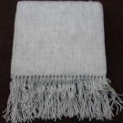 Scarf  Alpaca Scarf Light Gray