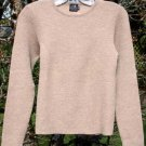 Alpaca Sweater Women Alpaca Sweater Beige Small
