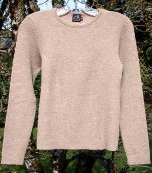 Alpaca Sweater Women Alpaca Sweater Beige Small