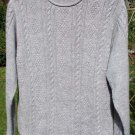 Alpaca Sweater Womens Alpaca Sweater Medium Gray Small