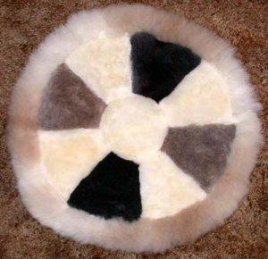 Alpaca Fur Round