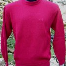 Sweater Alpaca Mens Alpaca Sweater Red Size Large
