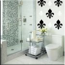 136 1 inch Fleur de les Vinyl Wall Decor Stickers