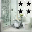 136 1 inch Stars Vinyl Wall Decor Stickers