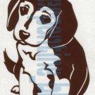 Beagle Puppy Dog Car Vinyl Window Bumper Decal Sticker