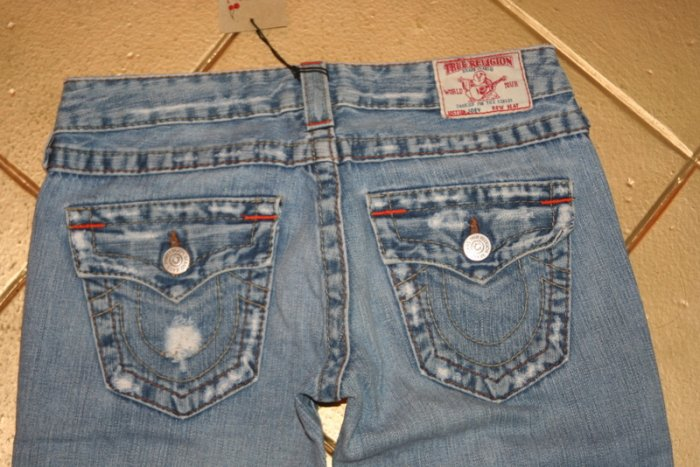 TRUE RELIGION JOEY DESTROYED JEANS SIZE Womens 26