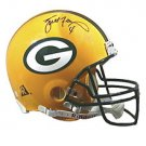 Green Bay Packers Brett Favre Signed Pro Helmet