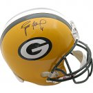 Green Bay Packers Brett Favre Autographed Full size Replica Helmet
