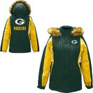 Green Bay Packers Women's Parka with Detachable Hood