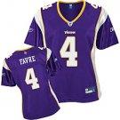 Minnesota Vikings Brett Favre Women's Premier Team Color Jersey