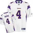 Minnesota Vikings Brett Favre Youth Replica White Jersey