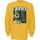 Green Bay Packers Brett Favre Accomplishments Long Sleeve T-Shirt