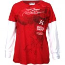 Tony Stewart Ladies Long Sleeve Layered Tee