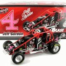 Jeff Gordon 1990 USAC #4 Sprint Car Diecast 1:24