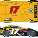 "Matt Kenseth 2009 Eldora ""Prelude to the Dream"" Dirt Car Diecast 1:24"