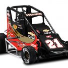 2009 TRACY HINES #21 CHEVY/BASS PRO SHOPS 1/18 R&R MIDGET