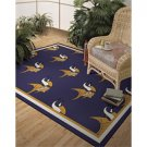 Minnesota Vikings Repeat Alternate 10-Ft. 9-In. x 13-Ft. 2-In Area Rug
