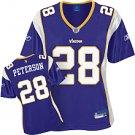 Minnesota Vikings Adrian Peterson Women's Premier Team Color Jersey