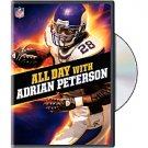 Minnesota Vikings Adrian Peterson All Day With Adrian DVD