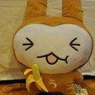 "Usaru-san anime 18"" plush bunny monkey squint"
