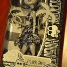 Monster High Skull Shores doll Frankie Stein daughter of Frankenstein Black and White beach