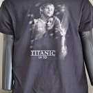 Titanic 3D Promo tshirt shirt black Mens XL Leonardo DiCarprio Kate Winslet