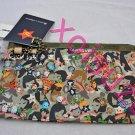 Lesportsac Tokidoki Caramella camo playground olive pouch bag