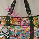 NEW Tokidoki Carezza Carnival print  3106 3852 shoulder hand bag purse