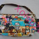 NEW Lesportsac for Tokidoki Dolce small hand bag pirata pirate print