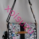 NEW Tokidoki Marina shoulder messenger hand bag purse in Portafortuna print