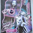 Monster High doll Ghouls Alive Spectra Vondergeist light up blue glow