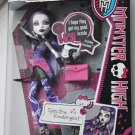 Monster High doll Picture Day Spectra Vondergeist includes Fearbook