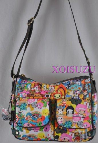 NEW Tokidoki Graziosa Carnival hand bag shoulder messenger sandy summer fun