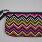 MISSONI FOR TARGET WRISTLET PURSE KNIT CLUTCH Passonite purple multi zig zag bag