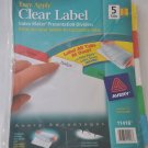 Avery 11418 Index Maker Clear Label Dividers - 5 Tab