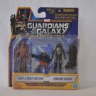 Guardians of the Galaxy Groot, Rocket Racoon, Sakaaran Trooper Action Figure Set