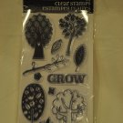 Hampton Art SC0183 Tree - 13 clear stamps - trees leaves branches grow