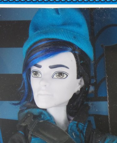 Monster High doll Scare Mester Invisi Billy Son of the Invisible Man invisibilly